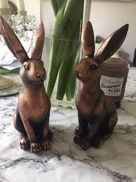 rabbit ornaments ebay