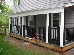 patio railing ideas deck kits lowes porch railing ideas