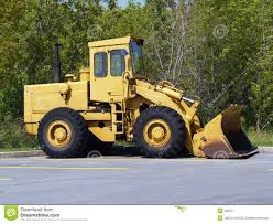 yellow front end loader royalty free stock photography image 936377