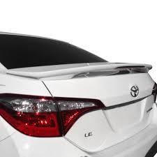 toyota corolla custom t5i toyota corolla 2014 2016 custom style fiberglass rear