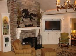 Corner Electric Fireplace Beauty Faux Stone Corner Electric Fireplace Beside Built In