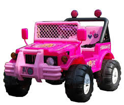 electric jeep for kids pink 12v little girls 2 seat ride on jeep 159 95 kids electric