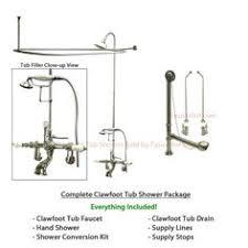 Installing A Bathtub Faucet Clawfoot Tub Showers Add A Shower To A Clawfoot Tub Faucet
