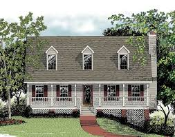 Reverse Story And A Half Floor Plans Classic One And One Half Story 2012ga Architectural Designs