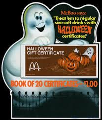 mcdonald u0027s mcboo halloween gift certificate plastic in s u2026 flickr