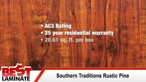 Laminate Flooring Hull Southern Traditions Rustic Pine Laminate Flooring Review Youtube