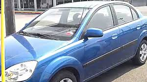 2009 kia rio lx 5 spd manual review youtube