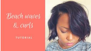 healthy relaxed haircare beach waves and curls with a flat iron