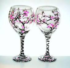 decorazioni bicchieri bicchieri decorati fai da te foto tempo libero pourfemme
