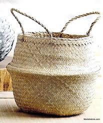 roost seagrass convertible baskets set 3 u2013 modish store