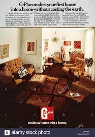 Free Home Decor Magazines Uk by 1960s Uk G Plan Magazine Advert Stock Photo Royalty Free Image
