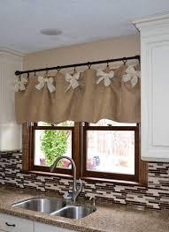 kitchen drapery ideas stunning kitchen window valances ideas and contemporary kitchen