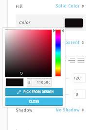 color scheme maker color picker pick colors from your design canvas design studio