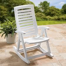 Aluminum Folding Rocker Lawn Chair by Outdoor Rocking Chair Design