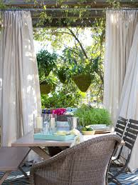 Outdoor Dining Rooms by 10 Ways To Make The Most Of Your Tiny Outdoor Space Hgtv U0027s