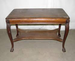 Antique Oak Drafting Table by Antique Tiger Oak Table Or Desk With Cabriole Legs Olde Good Things