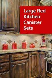 kitchen canisters glass vintage red kitchen canisters ceramic canister sets magnus lind com