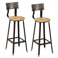 tabouret cuisine avec dossier tabourets de bar en bois et metal avec dossier moins cher tabouret