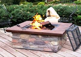 Wood Burning Firepit Wood Burning Table Outdoor Pit Table Fireplaces