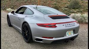 porsche carrera 2017 porsche 911 gts manual one take youtube