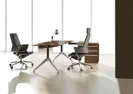 Office Desk Walnut Unique Furniture 300 Collection Walnut Desk 302 Desks