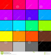 Purple And Orange Color Scheme Rainbow Color Palette Stock Illustration Image 85283218