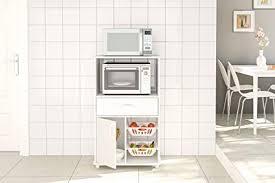 kitchen storage cabinets boahaus white kitchen storage cabinet fruit bowl 1 drawer microwave stand