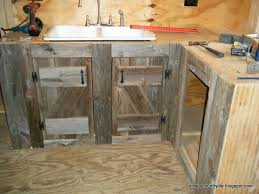Salvaged Kitchen Cabinets Simply Country Cabin Chronicles Part 12 Reclaimed Barnwood