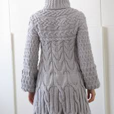 minimissimi sweater coat knitting pattern by minimi knit design