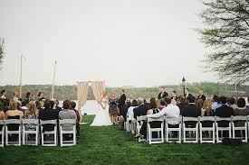 Northern Virginia Wedding Venues Jennie U0026 Jeff U0027s Modern Metallic Northern Virginia Wedding At
