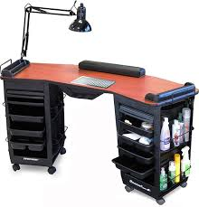 manicure nail table station nail stations beauty regarding nails desks for sale ideas 13
