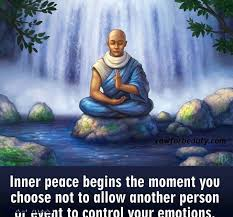 Inner Peace Meme - inner peace begins the moment you choose not to allow another person
