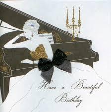 mojolondon piano birthday card by five dollar shake