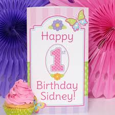 butterfly garden 1st birthday invitations 8