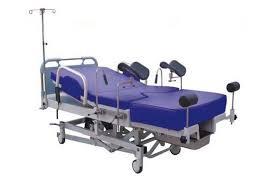 rotating hospital bed gynecology electrical obstetric delivery bed hydraulic hospital