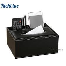 bureau distributeur bureau support de boîte de serviette de tissu de bureau distributeur
