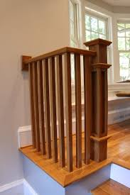 Oak Banister Rails Yeager Woodworking Furniture And Cabinetry Handrail Newel Posts