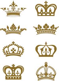 vintage design royal crown vintage design vectors 08 vector other free
