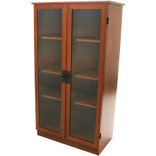 wood storage cabinets with doors and shelves heirloom storage cabinet with 4 shelves multiple finishes walmart com