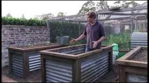 Corrugated Metal Garden Beds Chris Francis Presents A Method Of Constructing A Group Of Raised