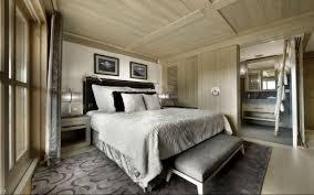 chambre en lambris bois design interieur chambre coucher luxe style chalet moderne