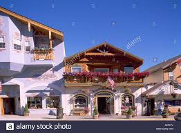 leavenworth wa washington state usa bavarian village