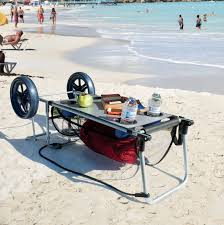how to ship a table across country beach cart for sand with big wheels folding table towel storage cup