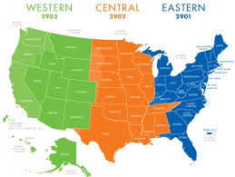 usa map with time zones and cities alaska time zone map map of usa states