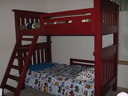 Bunk Bed Used White Simple Bunk Beds Diy Projects