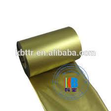 metallic gold ribbon metallic gold ribbon resin material zebra printer ribbon view