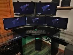 Gaming Setup Desk 1390 Best Cybernetics Images On Pinterest Pc Setup Gaming Setup