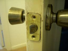 Exterior Door Knob Replacement by How To Remove And Replace A Weslock Doorknob 6 Steps