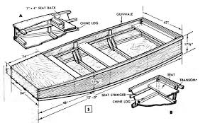 Free Small Wood Boat Plans by Build A Flat Bottom Jon Boat Plans Fishing Info Pinterest