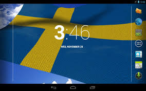 Swidish Flag 3d Sweden Flag Android Apps On Google Play